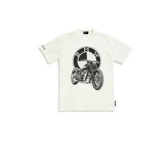 T-shirt Dealershirt heren wit