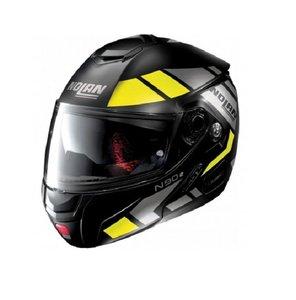 Nolan N90-2 Euclid Yellow Flatblack