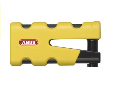 ABUS schijfremslot Sledge 77 geel